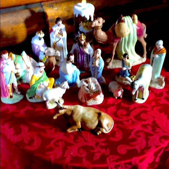 Nativity Set 16 Piece